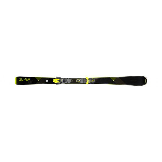 Горные лыжи super Joy SLR Joy Pro black/neon yellowl